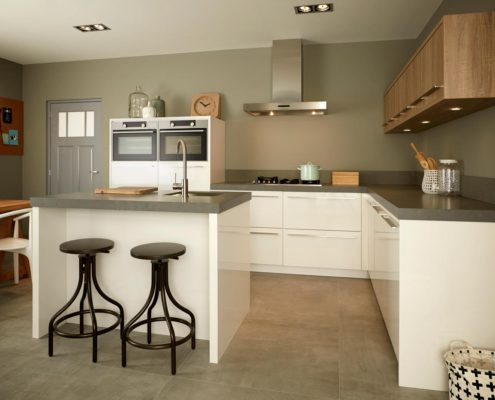 Elba Keller Contemporary Kitchen