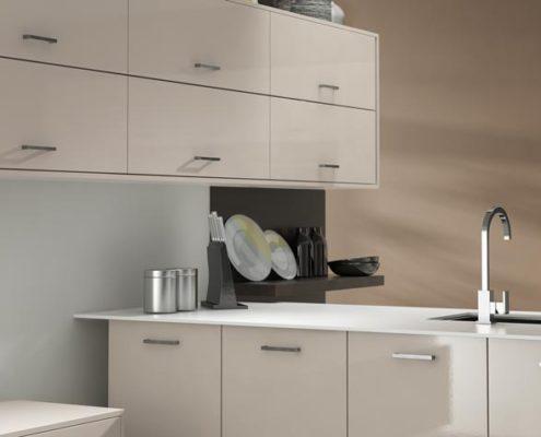 Crystal Gloss Sheraton Contemporary Kitchen