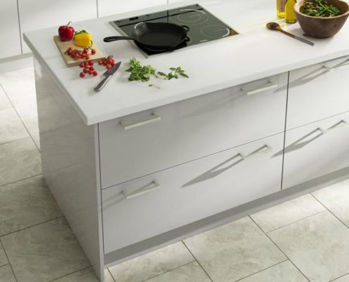 Crystal Gloss Sheraton Contemporary Kitchen