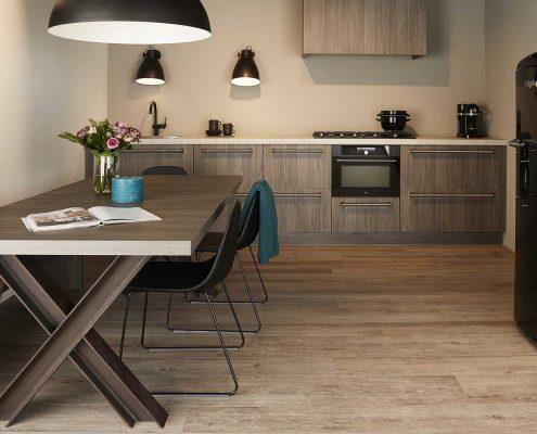 Elba Graphite Fleetwood Contemporary Kitchen