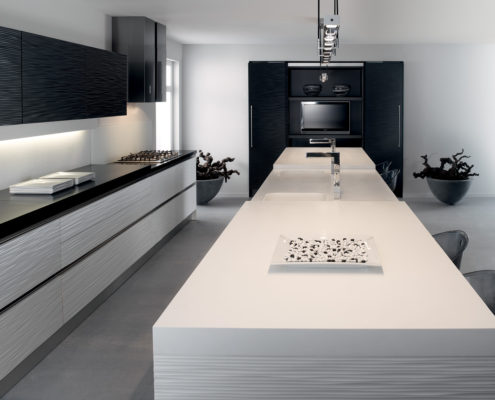 GL7300 NCS & White Keller Contemporary Kitchen
