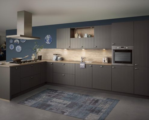 Irvine Basalt Keller Traditional Kitchen