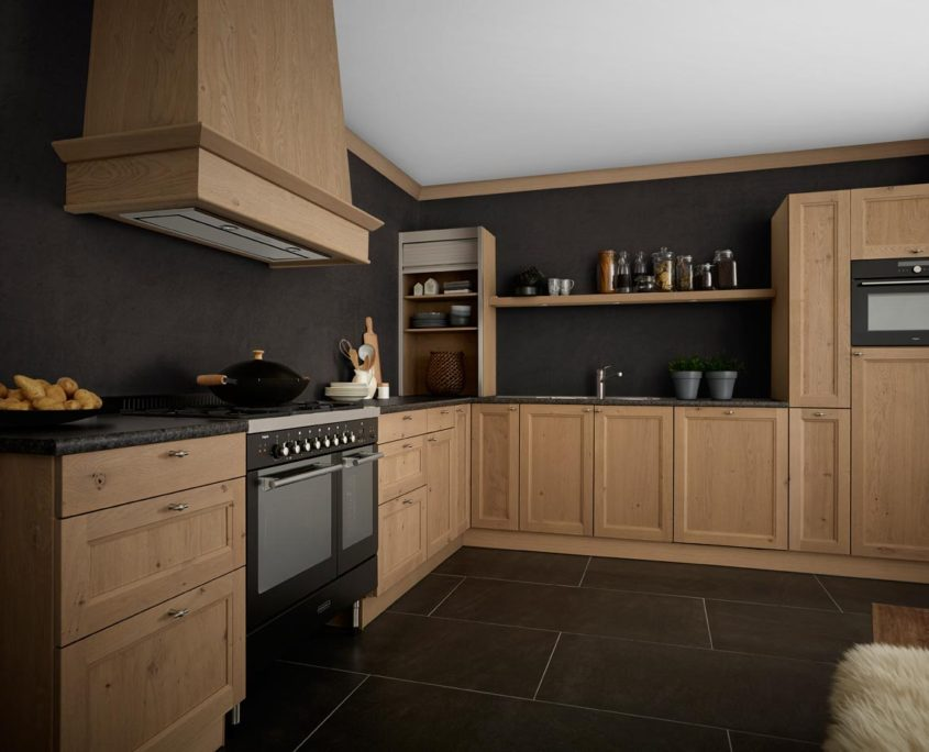 Leybourne Grey Keller Traditional Kitchen