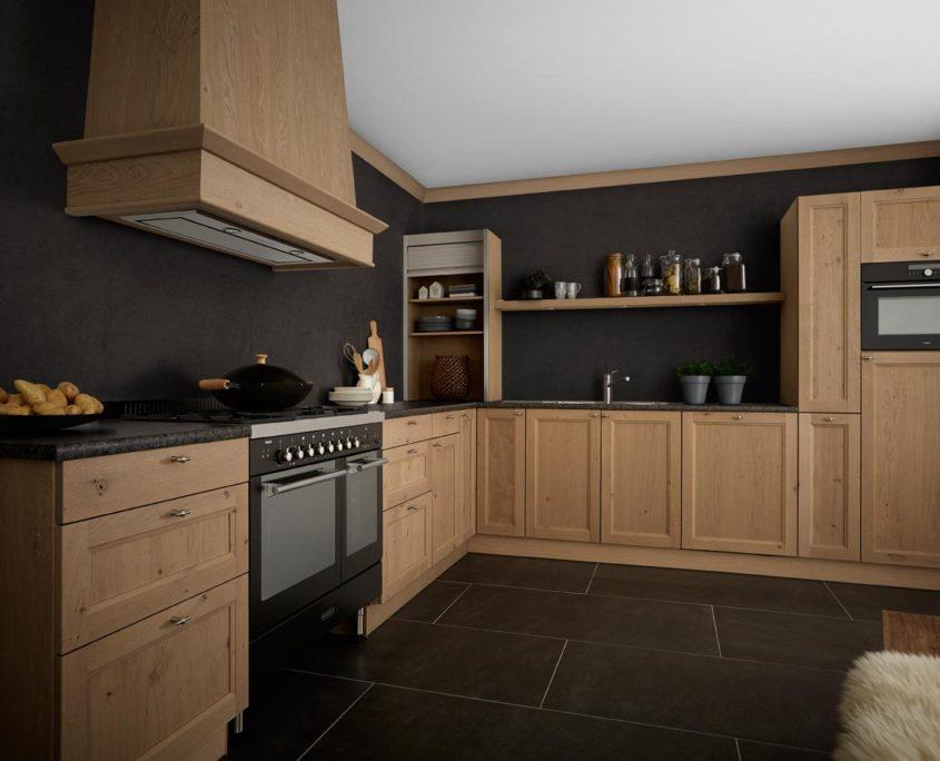 Leybourne Grey Keller Traditional Kitchen