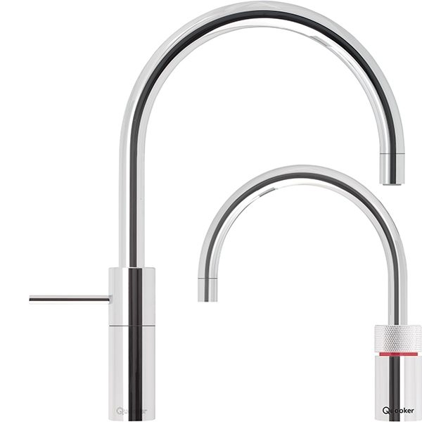 Nordic Round Twin Quooker Tap