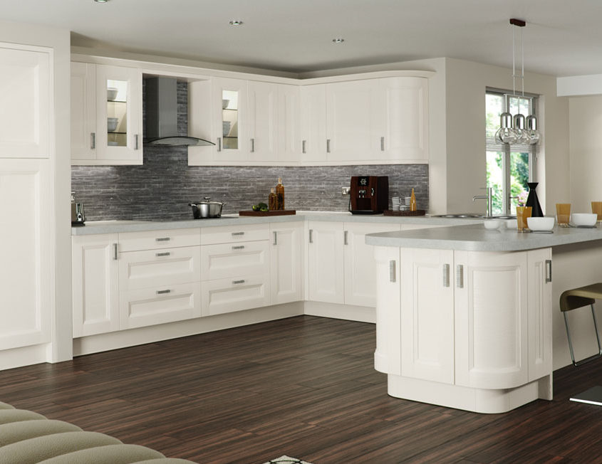 Chamfered Shaker Painted Sheraton Shaker Kitchen