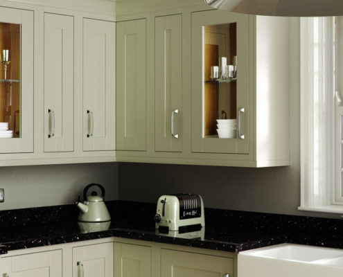 Painted in Frame Sheraton Traditional Kitchen