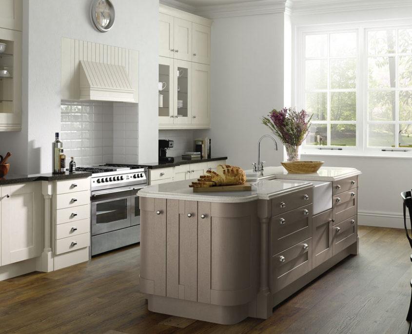 Painted Wood Shaker Sheraton Shaker Kitchen