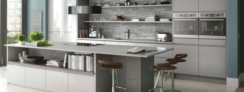 In-Line Gloss Sheraton Contemporary Kitchen