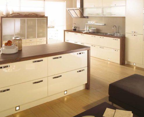 Mattonella Gloss Sheraton Contemporary Kitchen