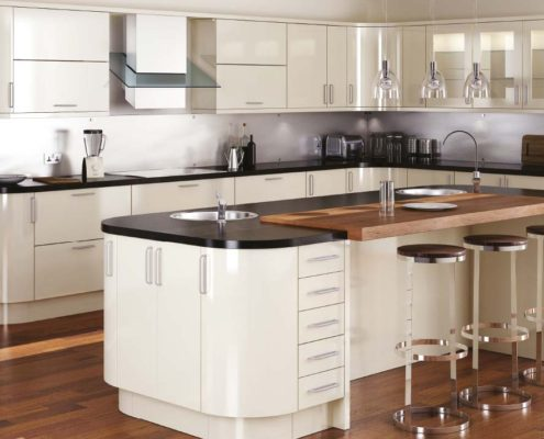 Mattonella Gloss Sheraton Contemporary Kitchen