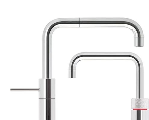 Nordic Square Twin Quooker Tap