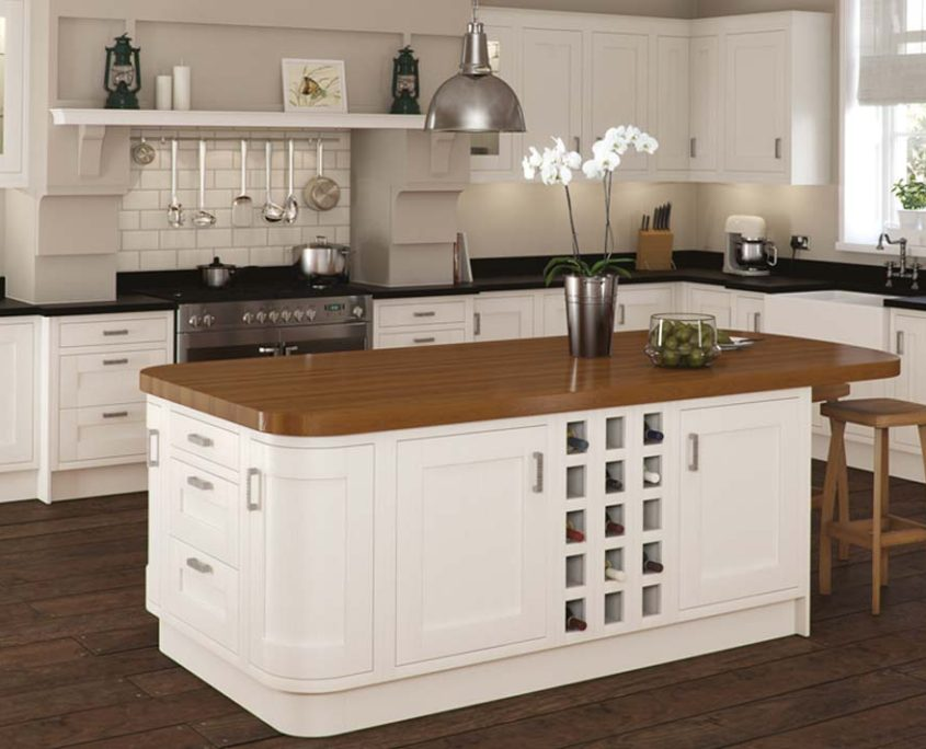Ivory in Frame Sheraton Traditional Kitchen