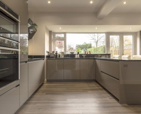Project 4 GL2000? GL4000 mocha with granite worktop and Amtico flooring