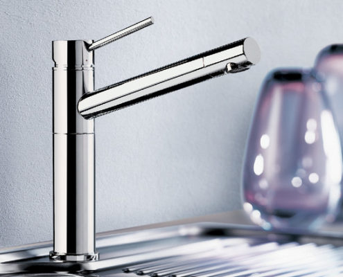 Alta Blanco Kitchen Taps