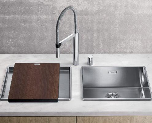 Attika Blanco Kitchen Sink
