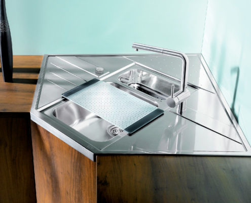 Axia Blanco Kitchen Sink