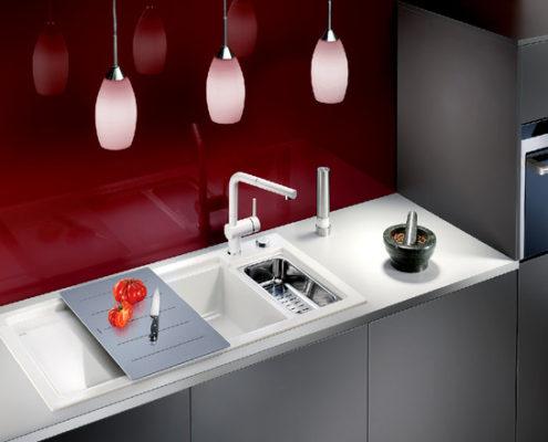 Axon Blanco Kitchen Sink