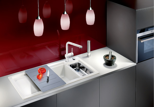Axon Blanco Kitchen Sink