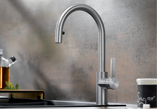 Candor Blanco Kitchen Taps