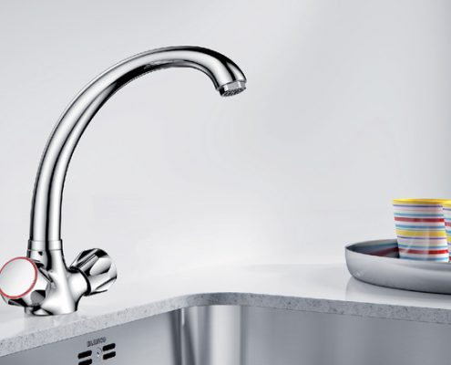 Caro Blanco Kitchen Tap