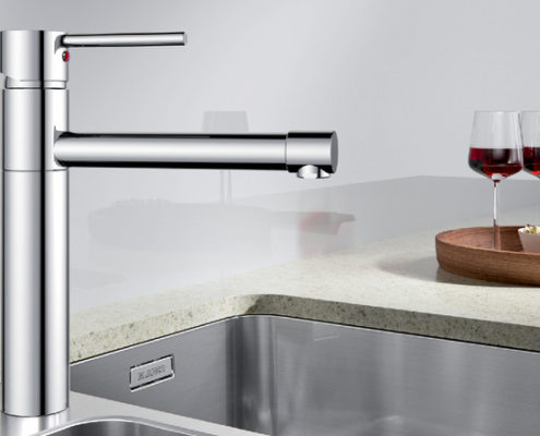 City Blanco Kitchen Taps