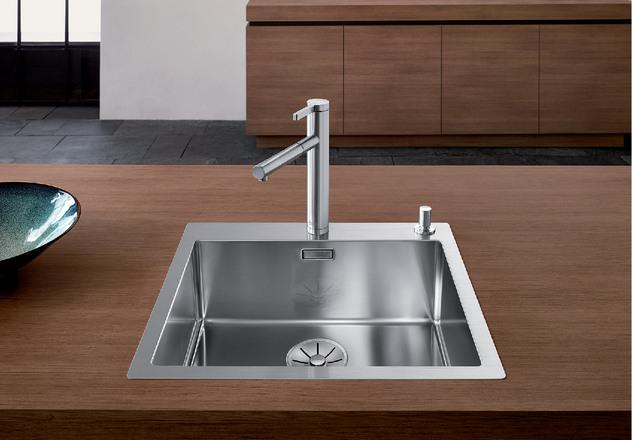 Claron Blanco Kitchen Sink