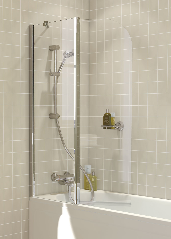 Kitchen Sinks Uk >> Curved Bath Screen - Byles