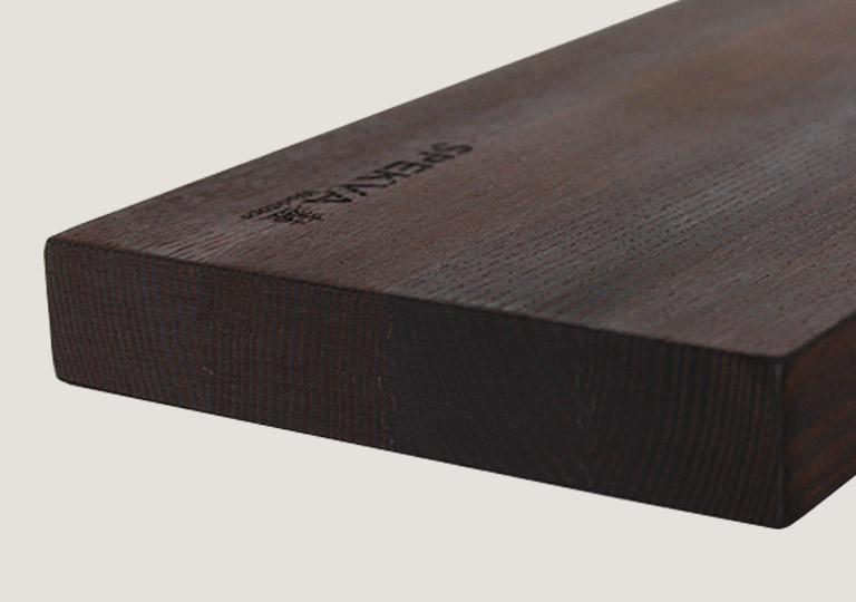 Dark Ash Wood Spekva Worktop