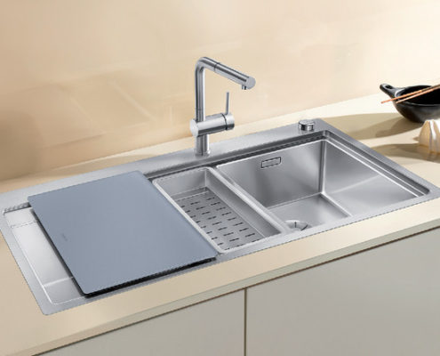 Divon Blanco Kitchen Sink