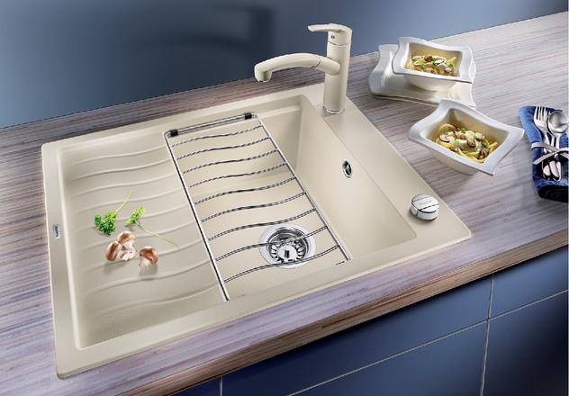 Elon Blanco Kitchen Sink