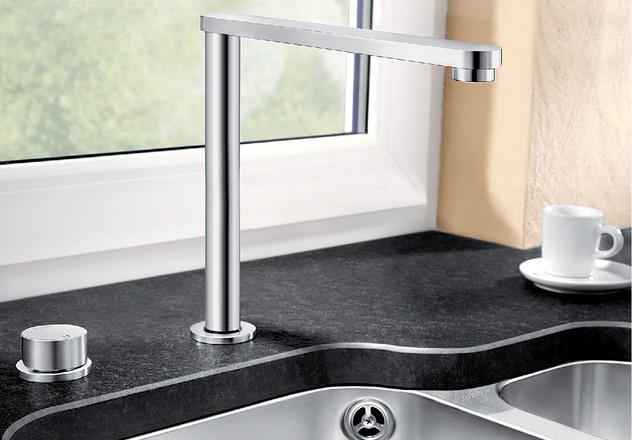 Eloscope Blanco Kitchen Taps