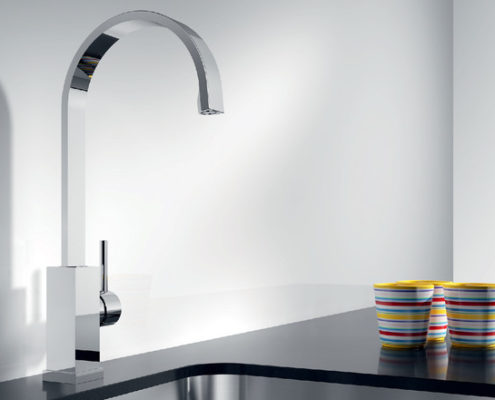 Emir Blanco Kitchen Taps