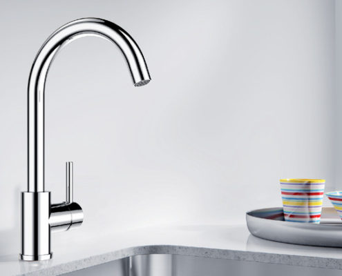 Envoy Blanco Kitchen Taps