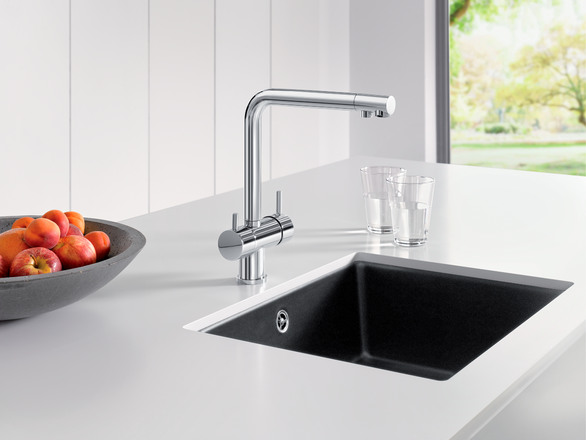 Filtra Blanco Kitchen Taps