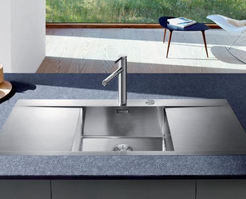 Flow Blanco Kitchen Sink