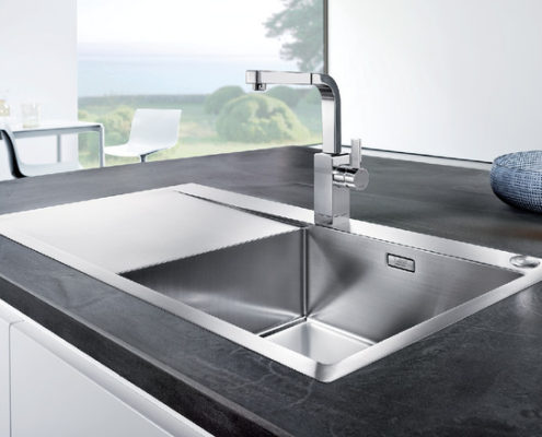 Flow Blanco Kitchen Sink