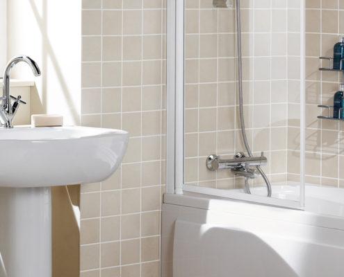 Framed Bath Screen