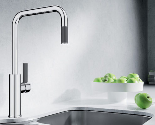 Galaxy Blanco Kitchen Taps