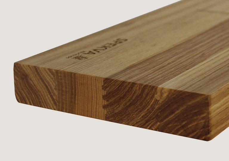 Heart Ash Wood Spekva Worktop