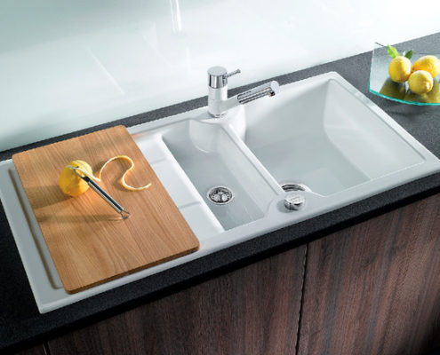 Idessa Blanco Kitchen Sink