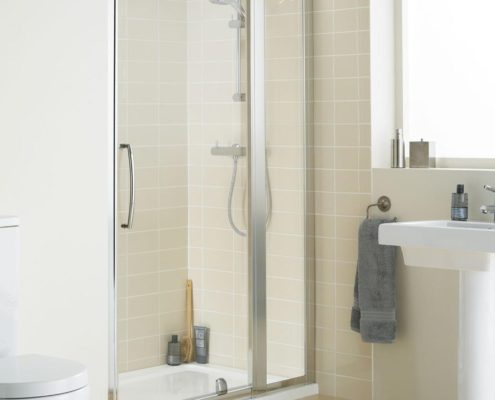 In-Line Panel Shower Enclosure