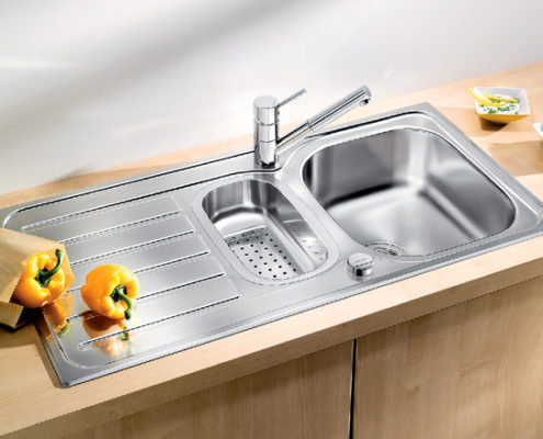Lanis Blanco Kitchen Sink