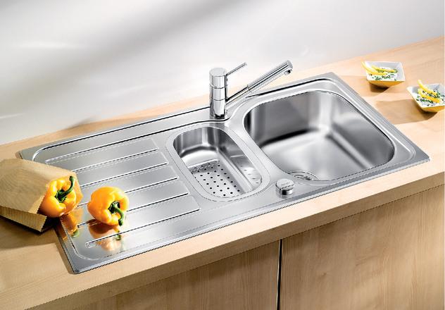 Lanis Blanco Kitchen Sink