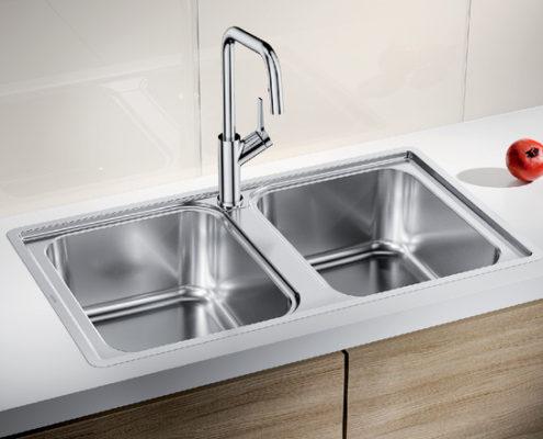 Lemis Blanco Kitchen Sink