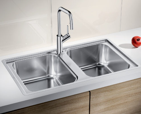 Lemis Blanco Kitchen Sink