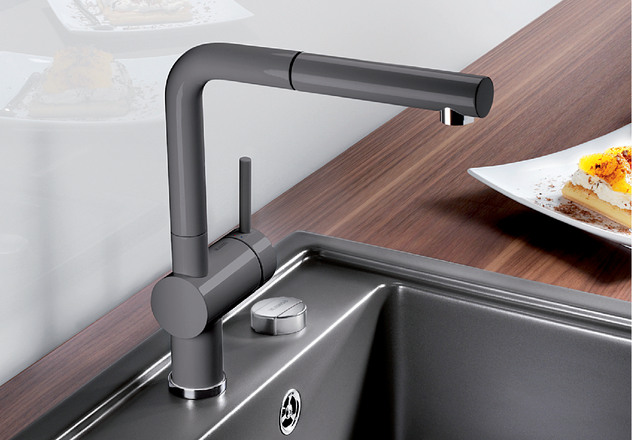 Linus Blanco Kitchen Taps