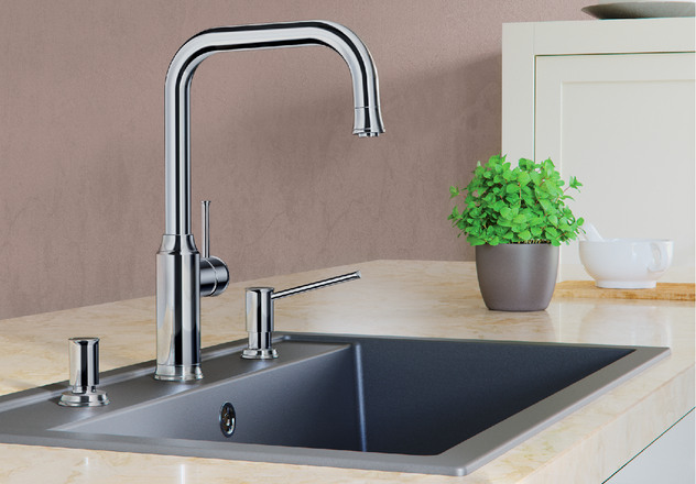 Livia Blanco Kitchen Taps