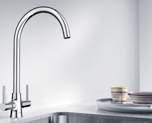 Loop Blanco Kitchen Taps