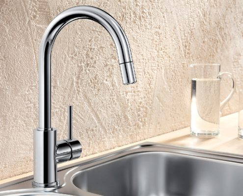 Mida Blanco Kitchen Tap